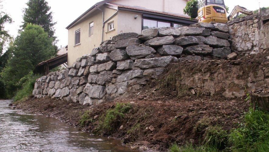 Les travaux ont été terminés le 29 mai.