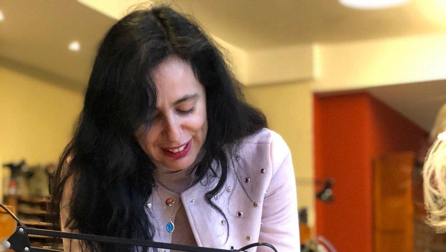 Nadia Bédar était déjà venue à Millau, en janvier 2018.
