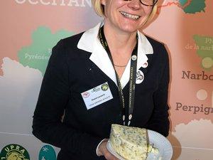 Cécile Arondel Schultz, directrice de la confédération générale de Roquefort.