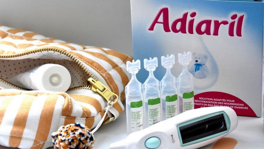 Les indispensables de la trousse à pharmacie pour les vacances avec bébé/enfant