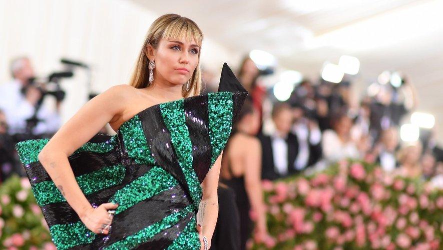 Miley Cyrus au Met Gala 2019, le 6 mai 2019 à New York