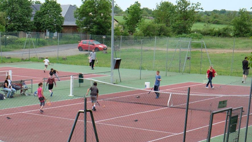 Un environnement très agréable pour s'adonner aux joies du tennis cet été.