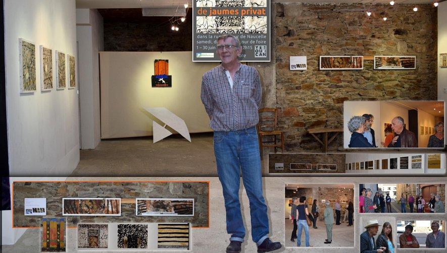 La salle du Can, rue du Four accueille l'exposition.