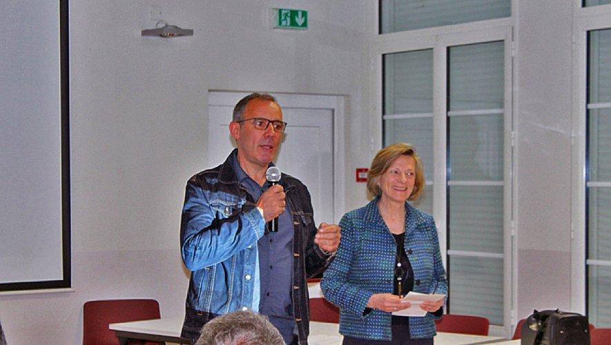 Alain Vioulac remercie les participants.