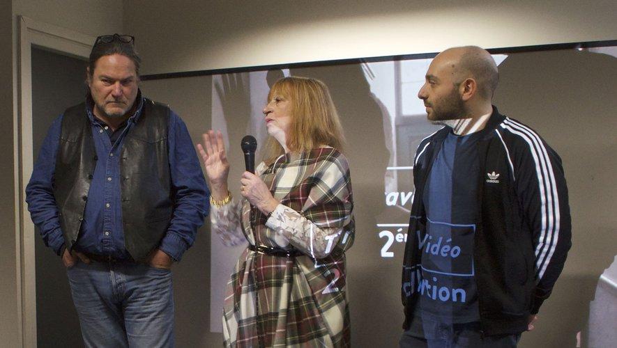 Simone Dompeyre, directrice artistique de Traverse Vidéo Toulouse.