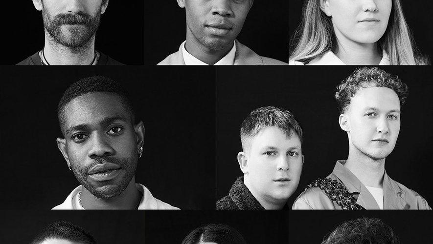 Les huit finalistes du Prix LVMH 2019.