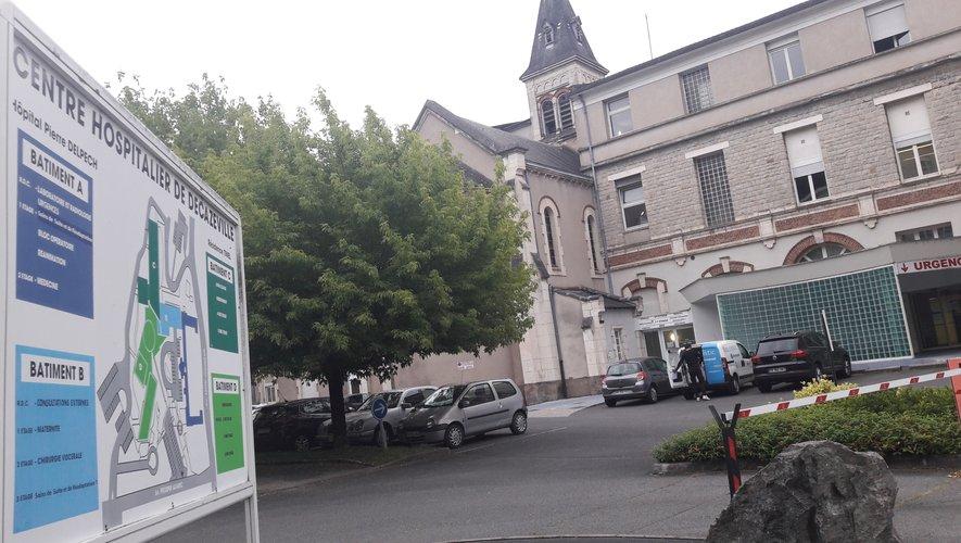 L'hôpital de Decazeville.