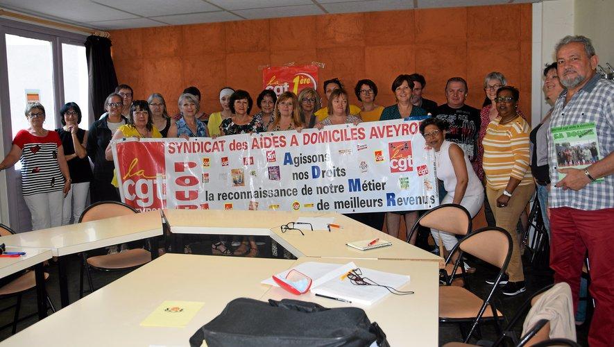 Une trentaine de responsables sont venus de la région Occitanie pour discuter  des problématiques.