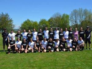 Les équipes féminines de la journée.