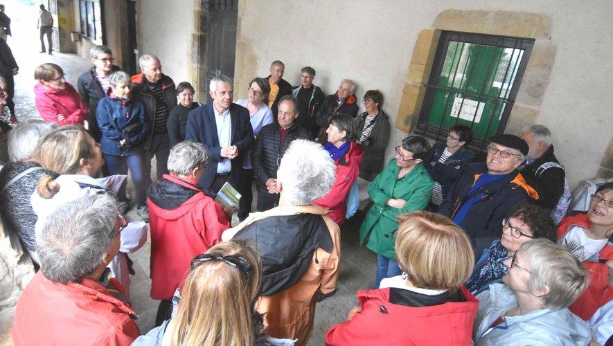 Des randonneurs bourguignons à la découverte de l'Aveyron