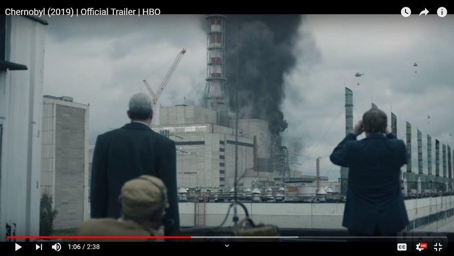 """La mini-série """"Chernobyl"""" est composée de cinq épisodes d'une durée d'environ d'une heure."""