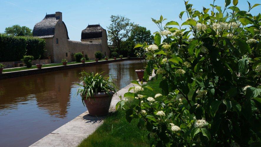 Le jardin de Bournazel.