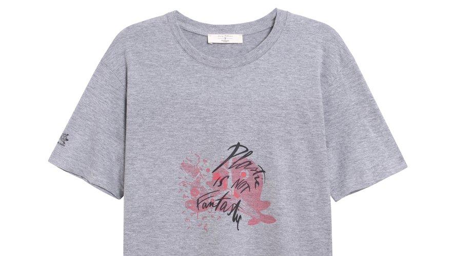 La marque Parisienne et alors signe une collection de T-shirts pour sensibiliser le public à la protection des océans.
