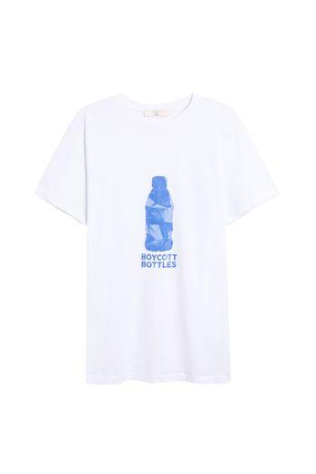 Chaque T-shirt issu de la capsule Parisienne et alors x No More Plastic sera vendu à 39€.