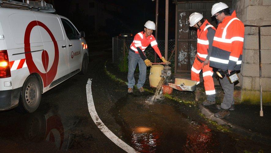 Véolia a inspecté les trente-cinq kilomètres du réseau local.