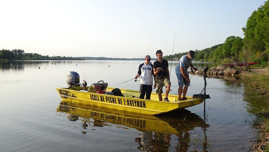 Apprendre pour initier les autres, c'est le but de la formation des futurs guides de pêche qui va durer une semaine.