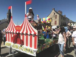 Le cirque était à l'honneur le 2 juin.