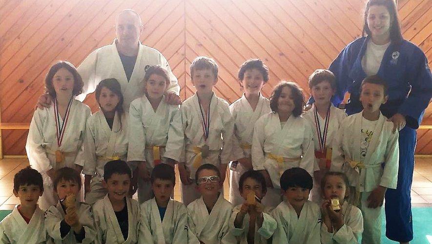 Des podiums à Rodez pour les jeunes du club.