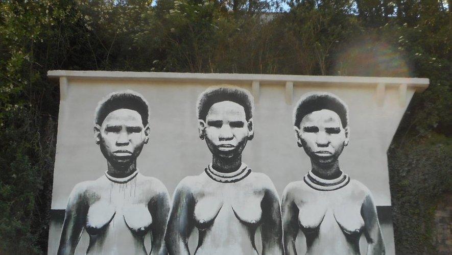 La production de Kouka, maître de l'art africain, sur la zone du Centre.