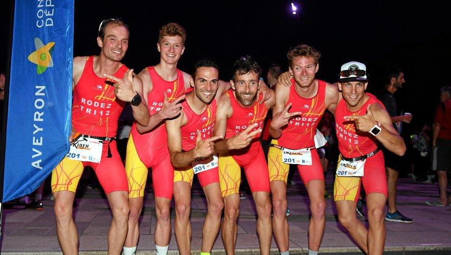 L'équipe de Triathlon 12 montera-t-elle encore sur la plus haute marche du podium, ce samedi soir ?