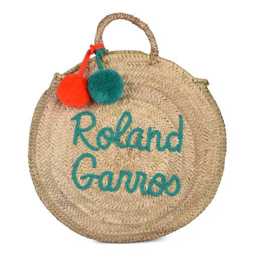 Le panier en feuilles de palmier de la marque Roland-Garros - Prix : 65€ - Site : https://boutique.rolandgarros.com.