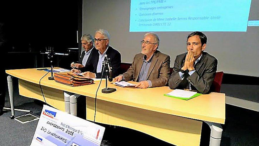 Les dirigeants d'Initiative Aveyron sont satisfaits des résultats de l'exercice 2018.