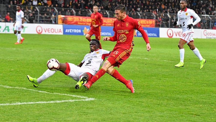Les Ruthénois s'étaient largement imposés face à Lyon-Duchère, 5-1.