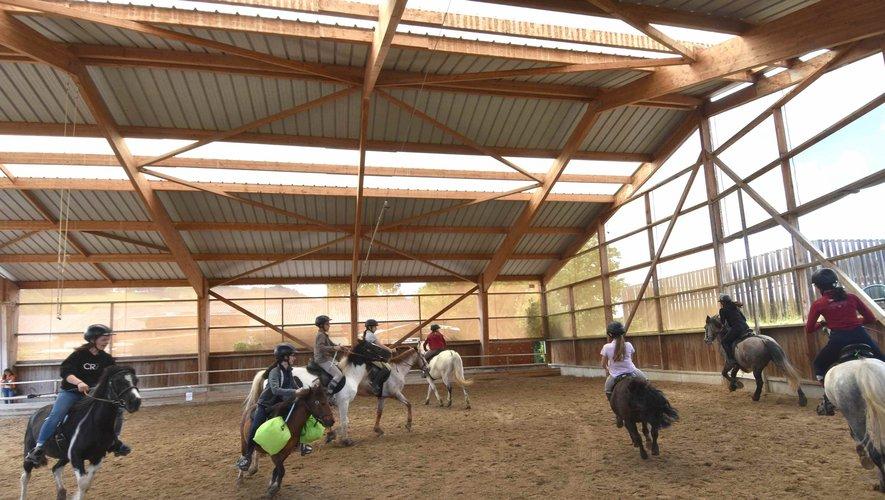 À la fête du poney au club Clem'horse