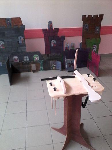 À ce jeu, deux participants peuvent s'affronter dans un duel convivial.