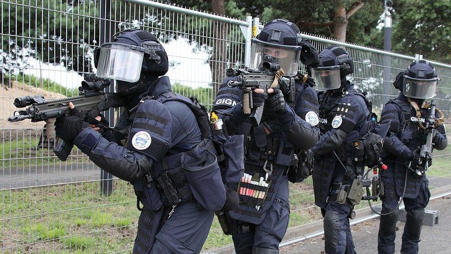 Le GIGN  est venu prêter main forte aux gendarmes ruthénois pour une interpellation dans le Gard.