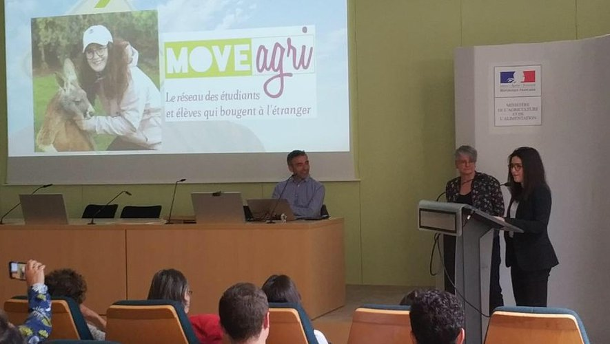 Paula Mesnard lauréate du concours Moveagri de l'enseignement agricole
