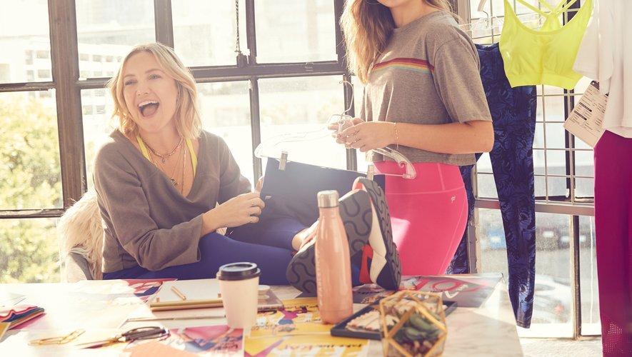 Kate Hudson et Maddie Ziegler en coulisses de la création de la capsule Maddie Ziegler <3 Fabletics