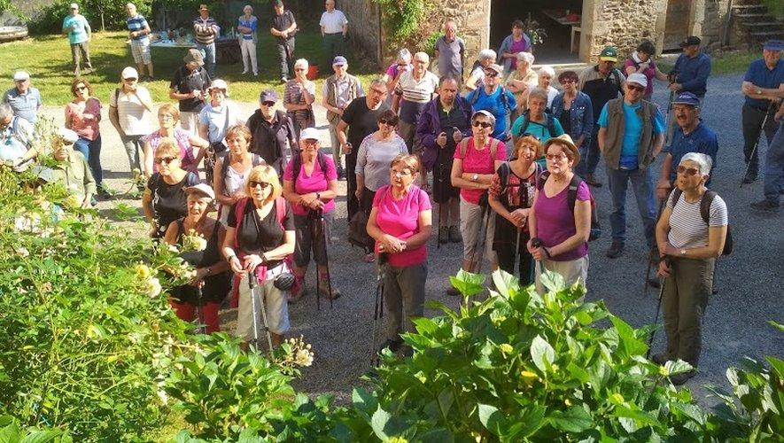 Les participants à cette escapade à Najac.