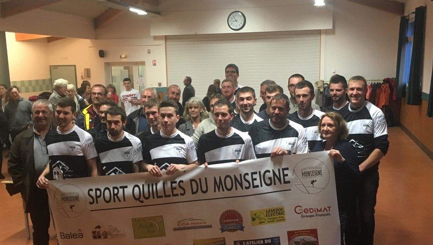 Le Sport Quilles du Monseigne a été créé à l'automne.
