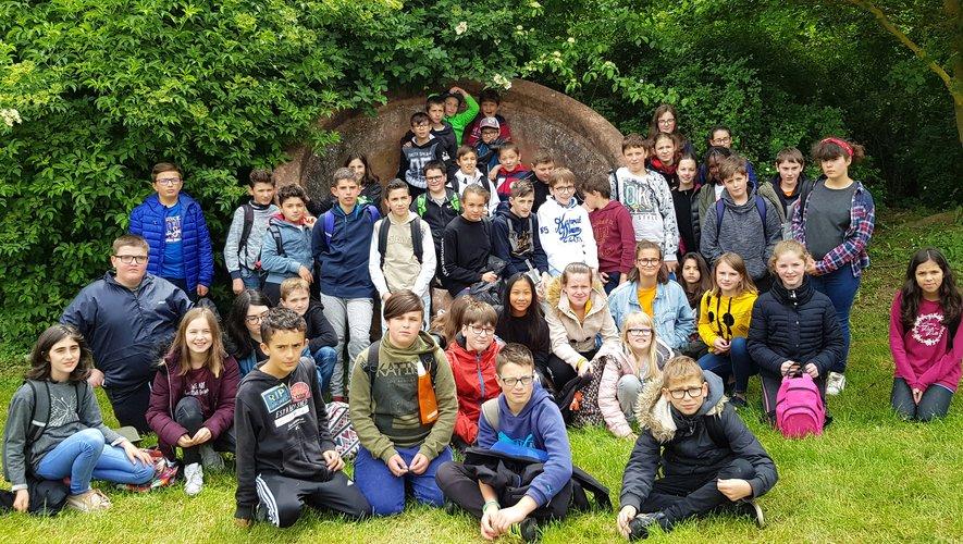Les deux classes de 6e ont participé aux Ludi Classici, activités autourde l'Antiquité gallo-romaine