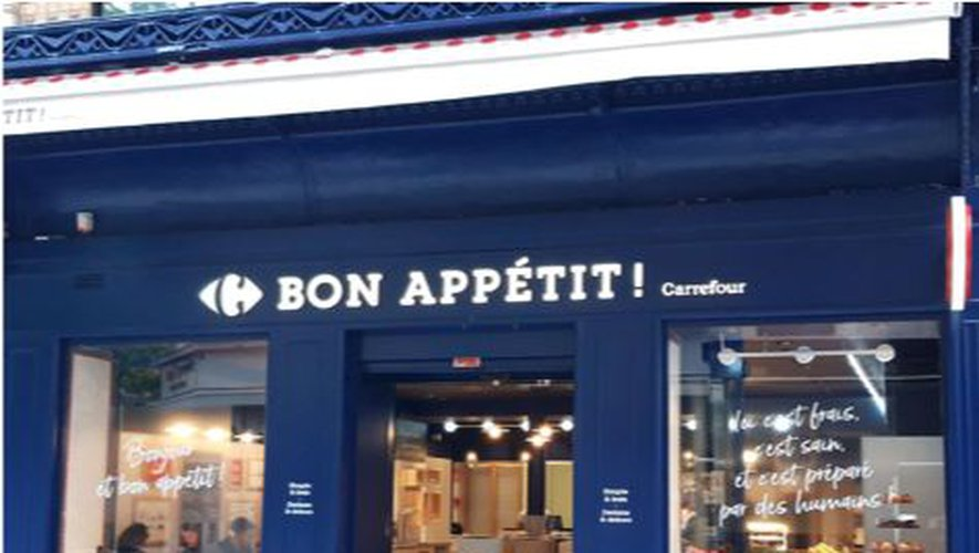 Carrefour teste un concept de restaurant à Paris