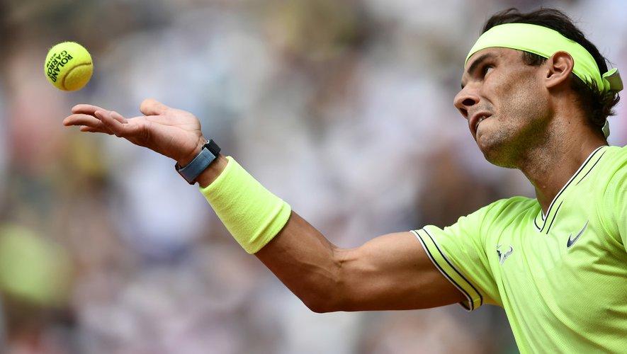 La finale Hommes, remportée par Rafael Nadal pour la 12e fois, a attiré 3,3 millions de spectateurs