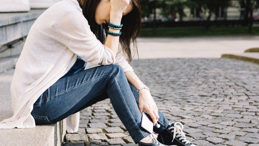 Contrairement aux garçons, la probabilité de dépression était plus importante chez les filles à l'IMC élevé.