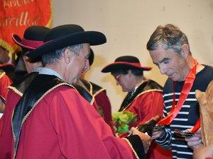 Le nouvel ambassadeur du mansois a étrenné son tassou.