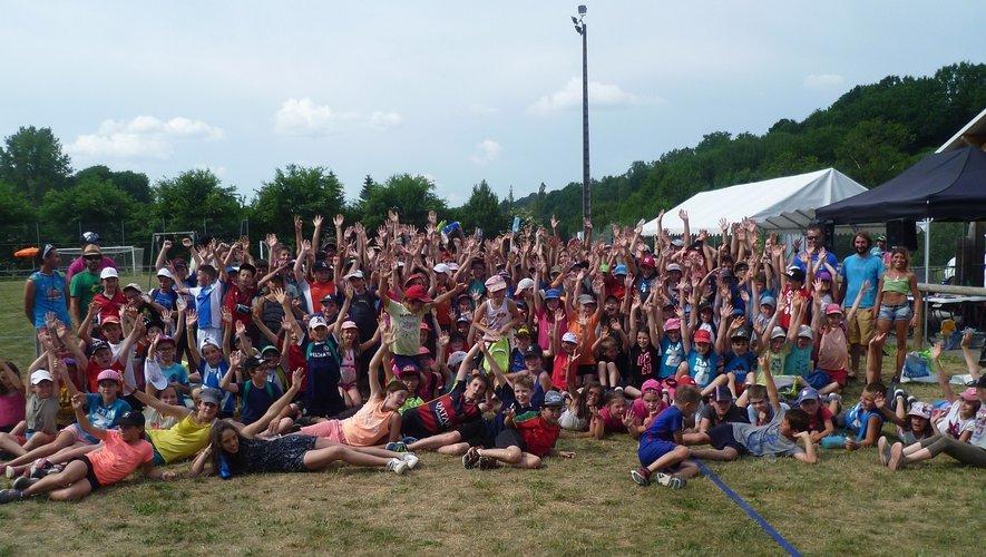 Chaque année, l'aprèm multisports rassemble une multitude d'enfants.