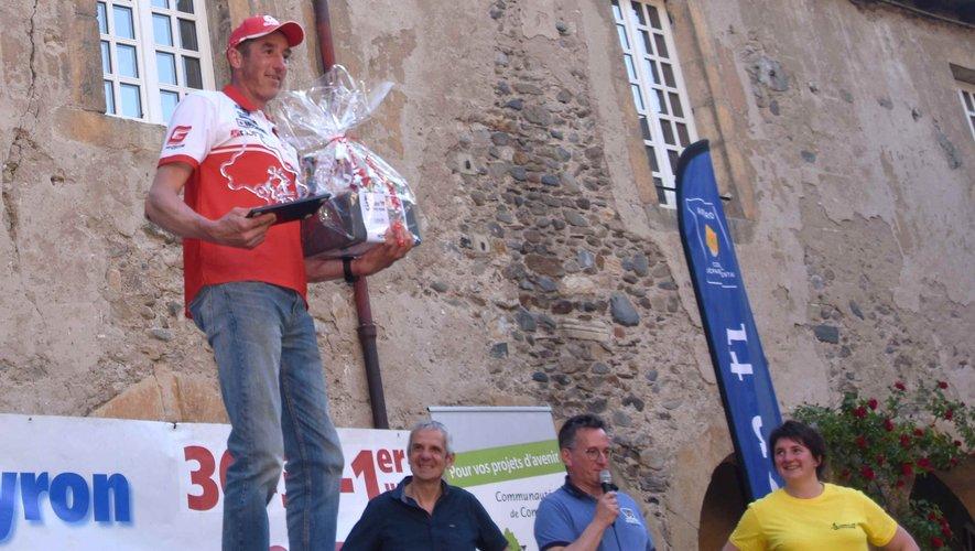 Jérôme Bethune  vainqueur de l'édition 2019 des 3 jours de l'Aveyron de moto trial.