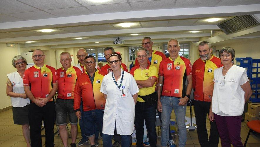 Le Vélo club en soutien de la cause