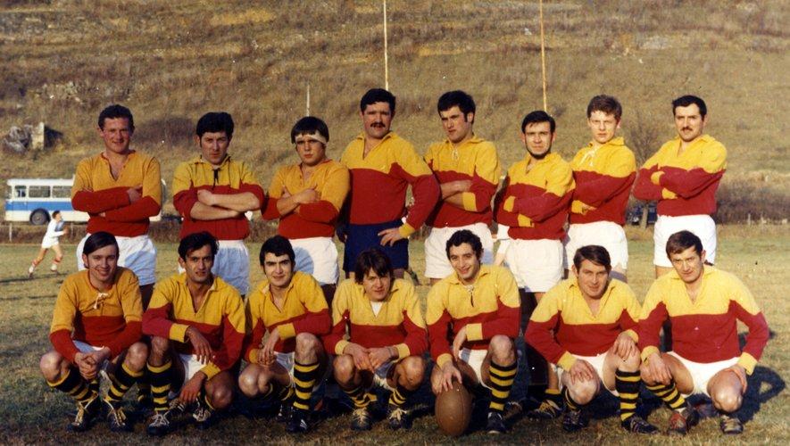 Les pionniers du club : J.-F. Petit, M. Poujol, R. Teyssèdre, E.  Baroni,  G. Burguières, G. Boutonnet, B. Bessières, H. Recoules. J.-M. Aygalenq, B. Cayrac,  A. Madaule, C. Langlois, Comes,  A. Gal, M. Granier.