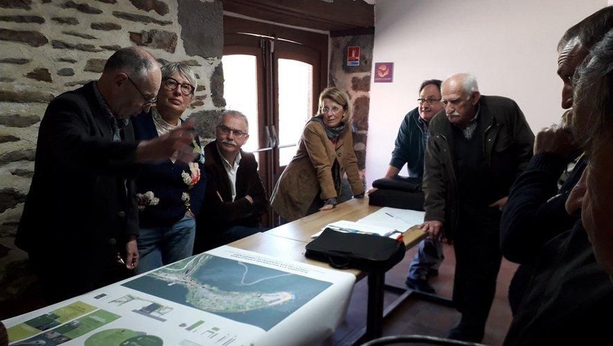 La commission tourisme a fait le point sur les travaux de la presqu'île.