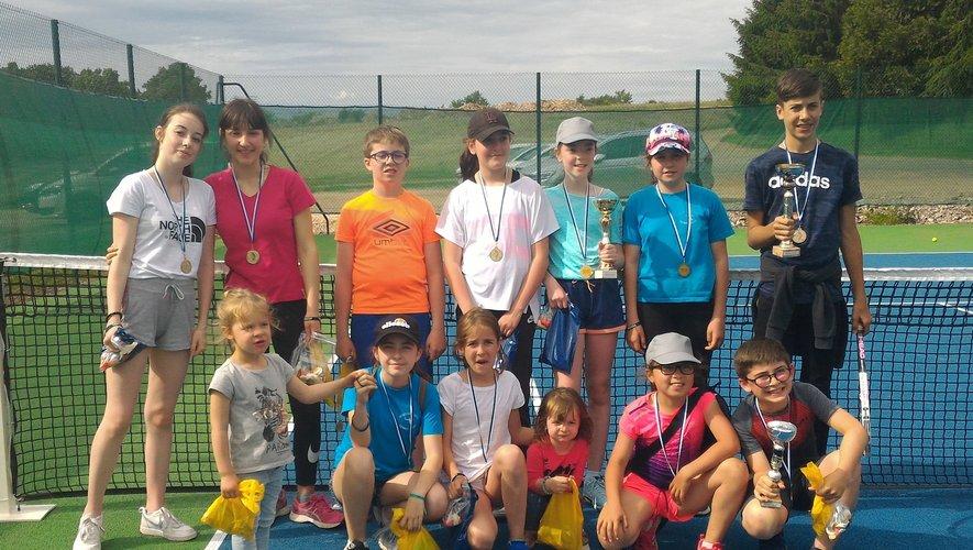 Les jeunes champions ont été récompensés.
