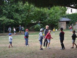 Les enfants de 3 à 11 ans sont accueillis au Manoir.