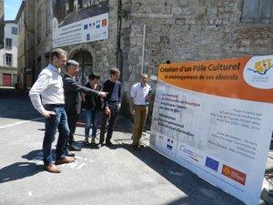 Serge Roques juge ce projet de pôle culturel de « capital » pour la ville.