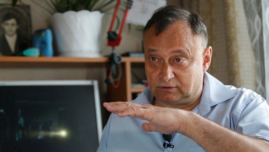 Oleksiy Ananenko, ancien ingénieur qui a risqué sa vie en 1986 dans la centrale accidentée de Tchernobyl