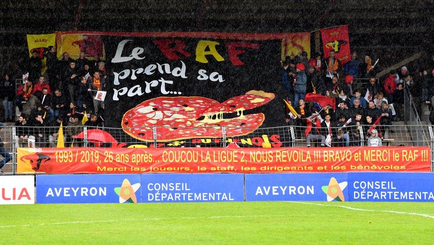 Les Ruthénois devraient recevoir le RC Lens le 8 novembre dans leur nouveau stade Paul-Lignon.