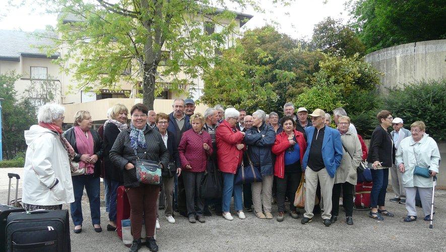Les seniors sont partis  à la découverte de la Dordogne